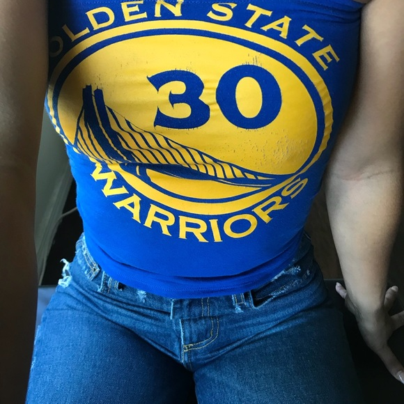 80047126af3 Reversible golden state warriors tube top. M 5b3e34c8951996bd11e9b8a2